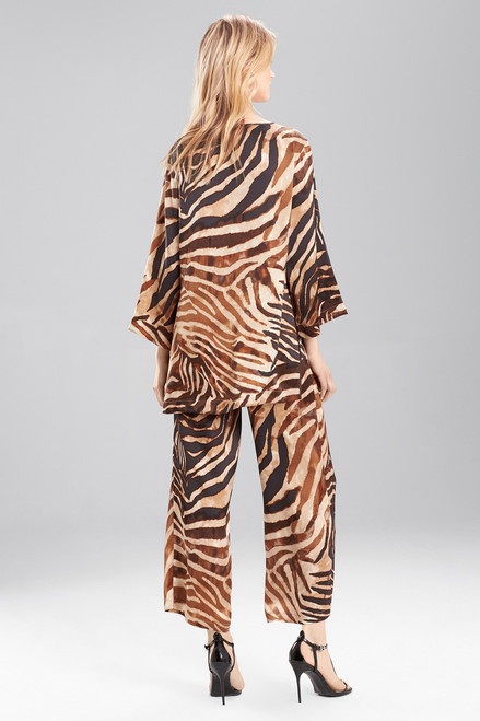 Josie Natori Zebra PJ at The Natori Company