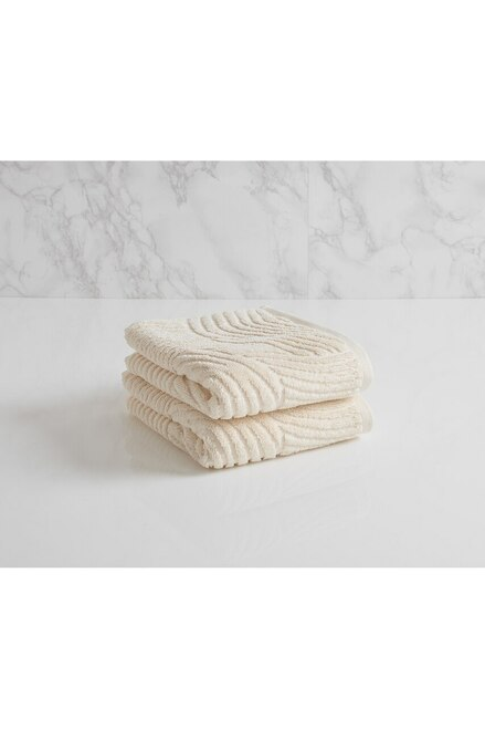 Natori Dynasty Wave Towel - Style 2639 at The Natori Company