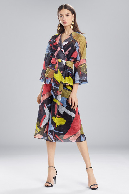 Buy Josie Natori Printed Gauze Short Topper from