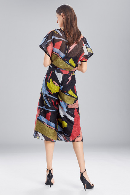 Josie Natori Printed Gauze Culottes at The Natori Company