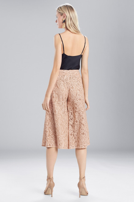 Josie Natori Lacquer Lace Culotte at The Natori Company