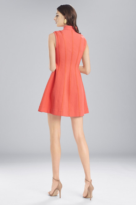 Josie Natori Textured Cotton Sleeveless Dress at The Natori Company
