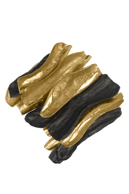 Buy Josie Natori 24K Goldplated Brass With Darkwood Bracelet from