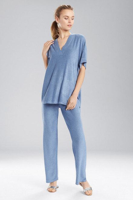 Buy N Natori Terry Lounge V-Neck Top from