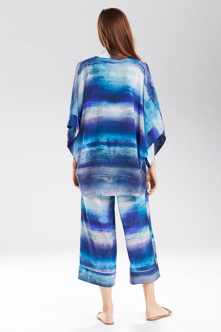 Josie Natori Blue Lagoon Wrap at The Natori Company