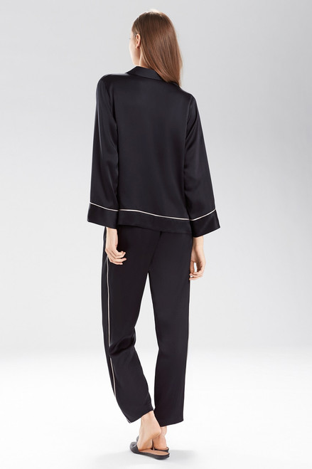 Josie Natori Key Essentials Notch Collar PJ at The Natori Company