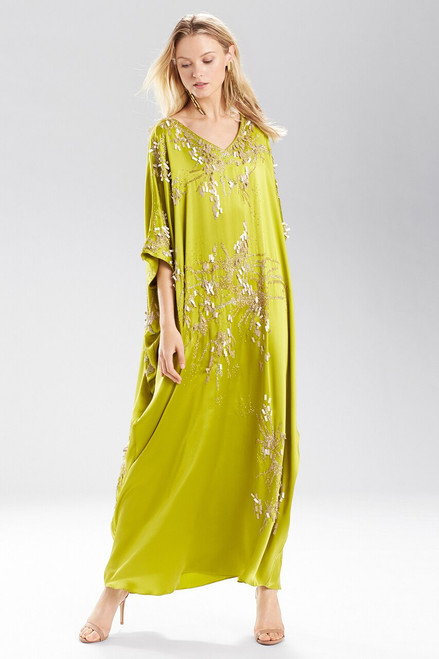 Buy Josie Natori Inkblot Square Caftan from