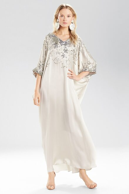 Josie Natori Coral Reef Square Caftan at The Natori Company