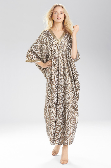 Josie Natori Sultan Cocoon Caftan at The Natori Company