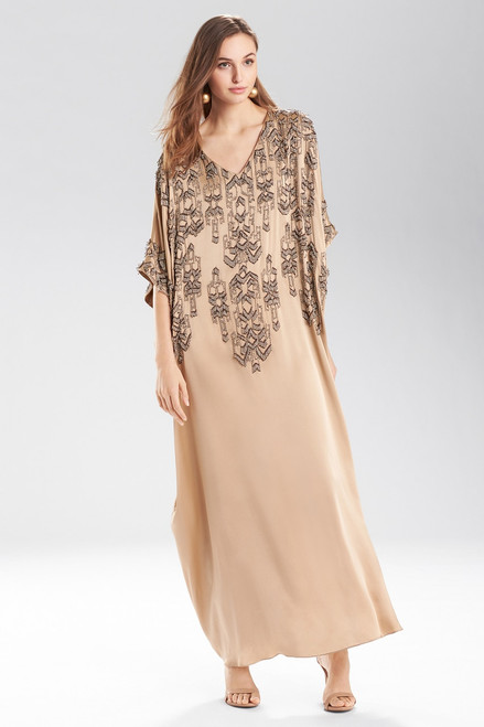 Buy Josie Natori Ikat Cocoon Caftan from
