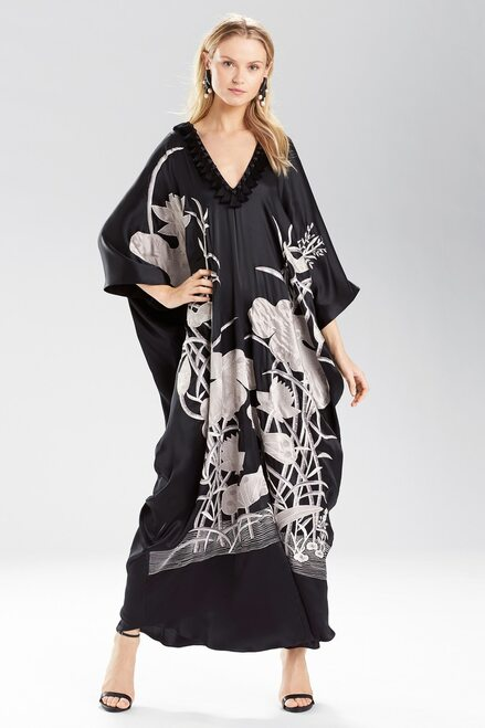 Buy Josie Natori Lotus Cocoon Caftan from