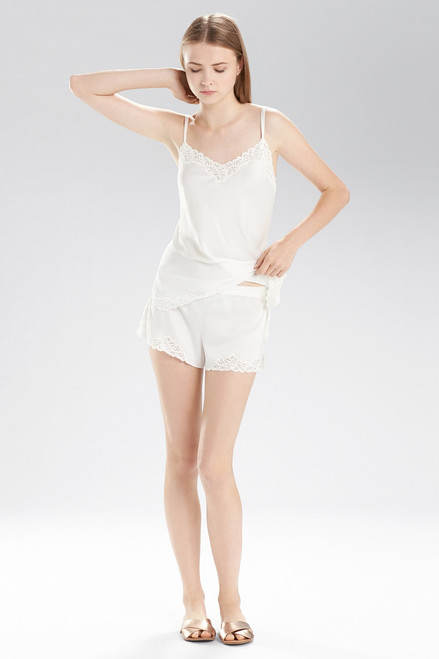 Natori Feathers Satin Shorts at The Natori Company