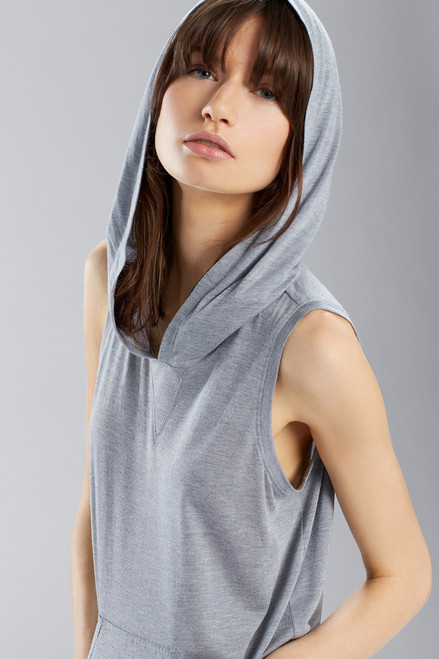 Josie Heather Tees Tank Hoodie at The Natori Company