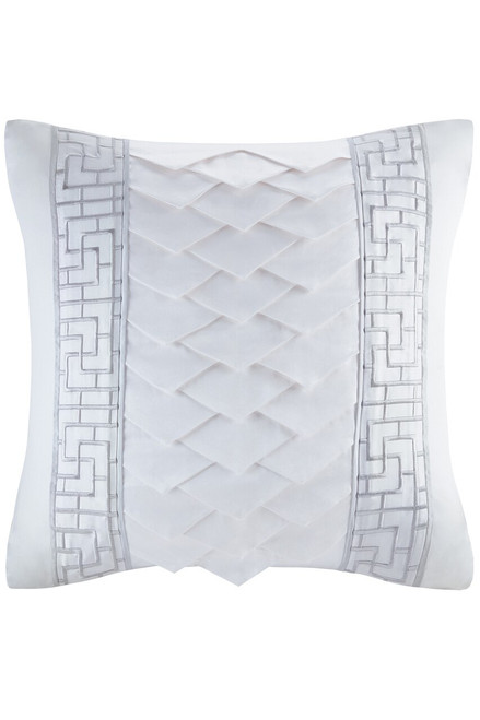 Buy Natori White Orchid Square Pillow from