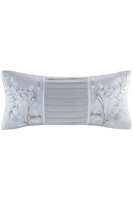 Natori White Orchid Oblong Pillow at The Natori Company