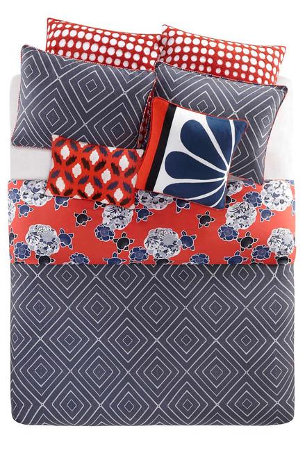 Josie Diamond Geo Comforter Mini Set at The Natori Company
