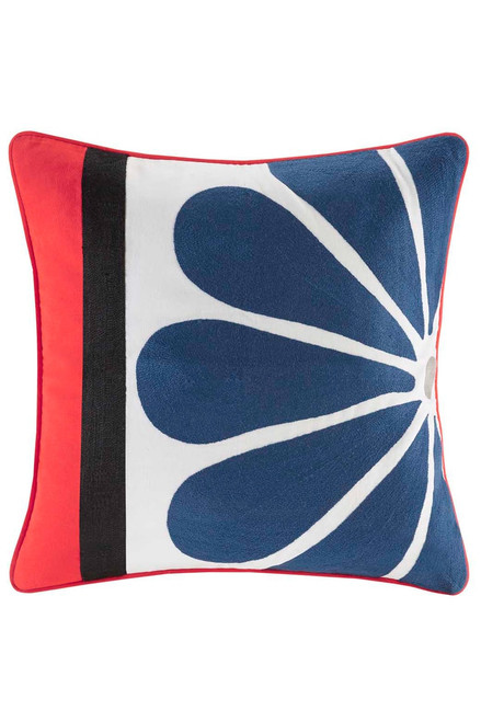 Josie Diamond Geo Square Pillow at The Natori Company