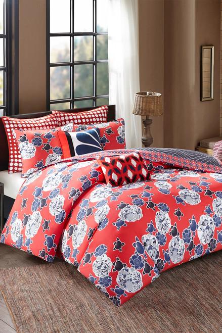 Josie Diamond Geo Oblong Pillow at The Natori Company