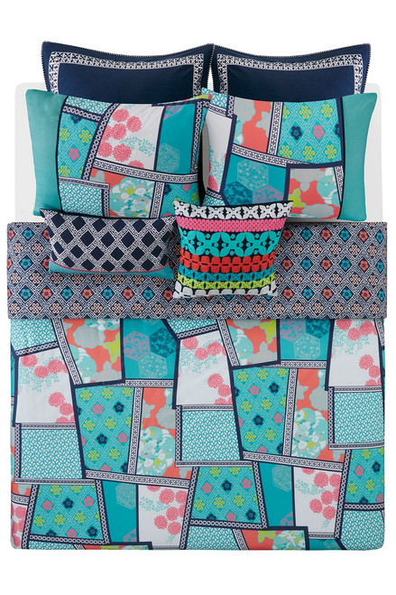 Josie Mix & Match Square Pillow at The Natori Company