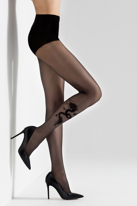 Buy Natori Dragon Sheer Tights from