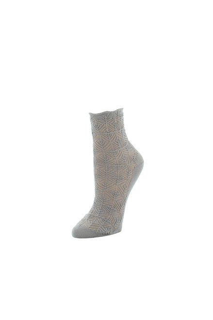 Natori Circular Knit Crew Socks at The Natori Company