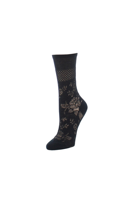 Natori Floral Fields Crew Socks at The Natori Company