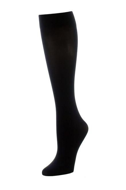 Natori Chevron Net/Solid 2 Pair Trouser Socks at The Natori Company