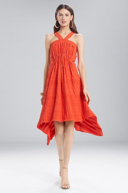 Josie Natori Summer Texture Eyelet Dress at The Natori Company