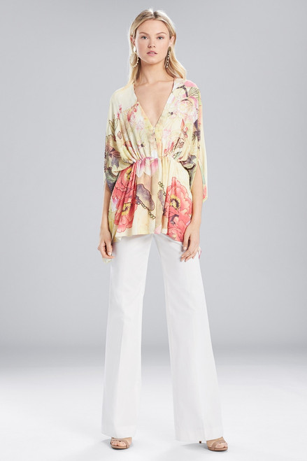 Buy Josie Natori Printed Silky Soft Caftan Top from