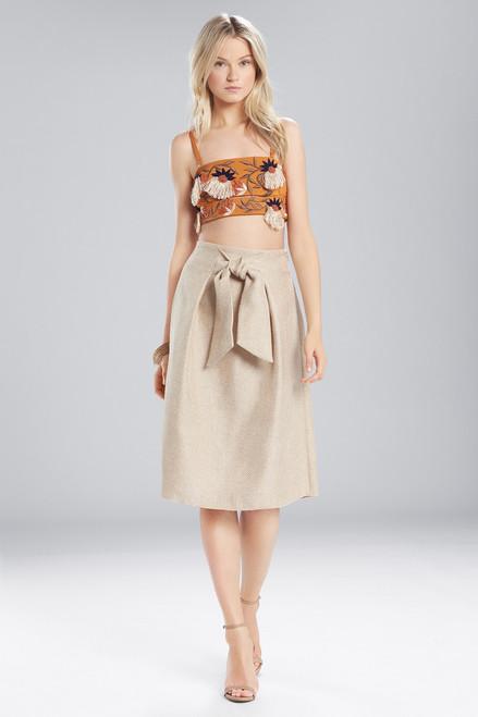 Buy Josie Natori Cotton Shirting Embroidered Bralette from