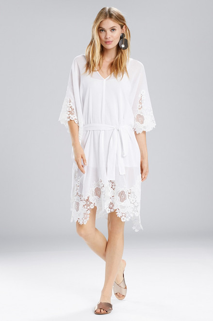 Buy Natori Lucia Caftan With Tie and Lace from