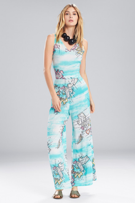 Buy Natori Jeepney and Map Jumpsuit from