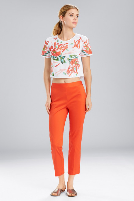 Buy Natori Breeze Embroidered T-Shirt from
