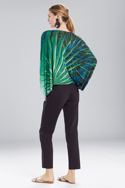Natori Palm Poet Sleeve Top at The Natori Company