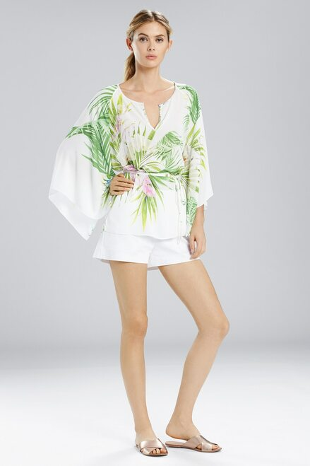 Buy Natori Orchid Kimono Sleeve Top from