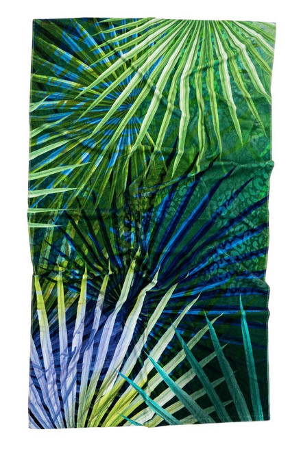 Natori Tropical Floral Beach Towel at The Natori Company