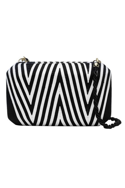 Buy Natori Beatriz Clutch Black/White from