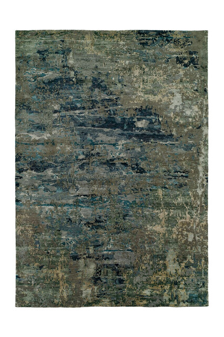 Buy Natori Lhasa- Sandstorm Blue Rug from