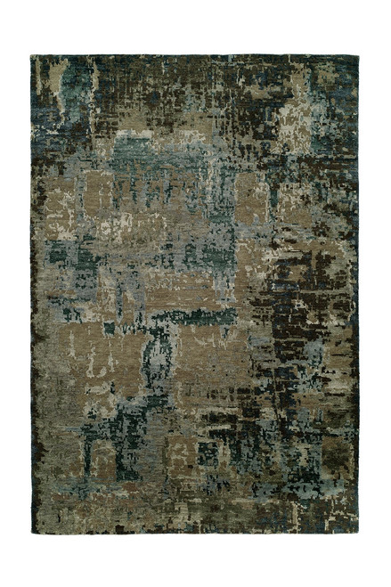 Natori Lhasa- Nightfall Rug at The Natori Company