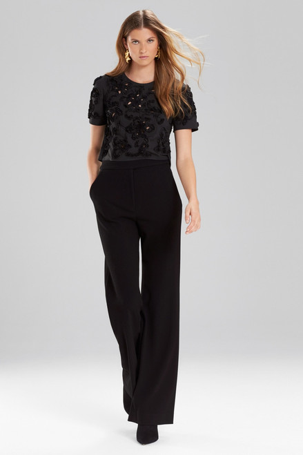 Buy Josie Natori Knit Crepe High Waisted Pants from