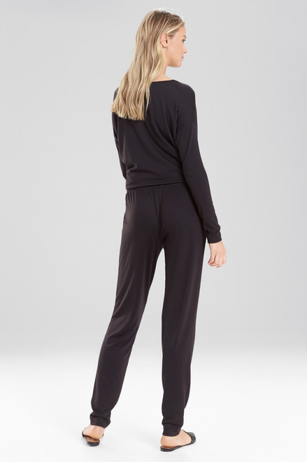 Natori Zen French Terry Pants at The Natori Company