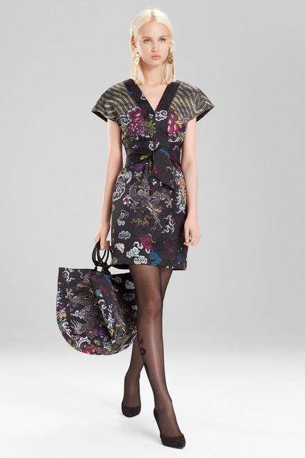 Josie Natori Dragon Jacquard Small Bag at The Natori Company