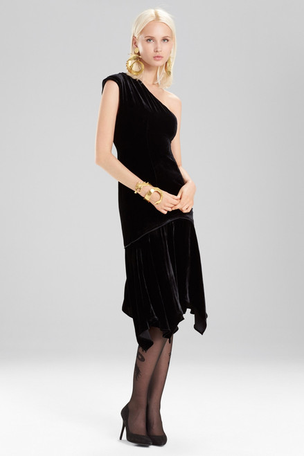 Buy Josie Natori Silk Velvet Dress from
