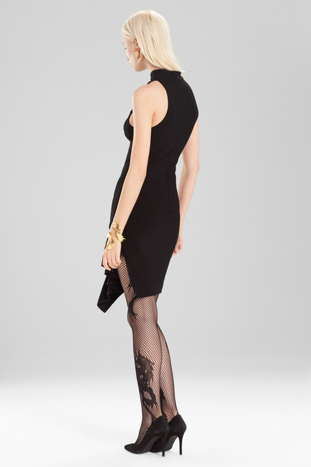 Josie Natori Knit Crepe Dress at The Natori Company