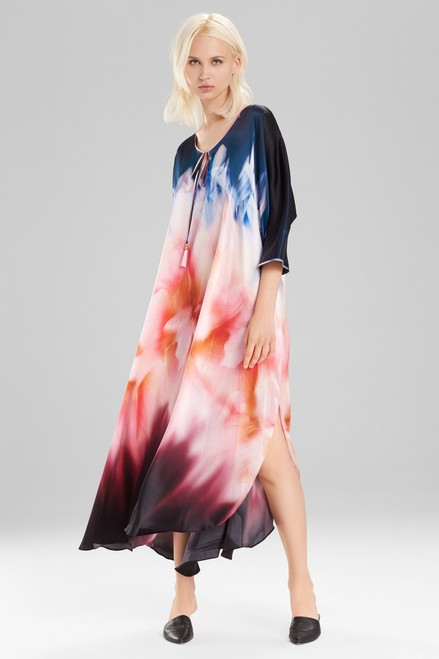 Josie Natori Mirage Caftan at The Natori Company
