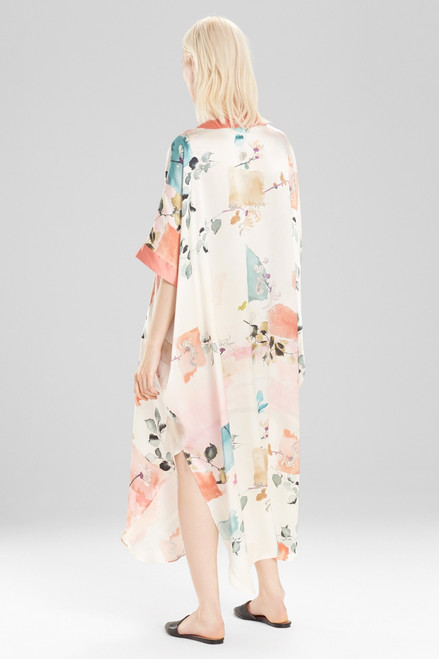 Josie Natori Watercolor Caftan at The Natori Company