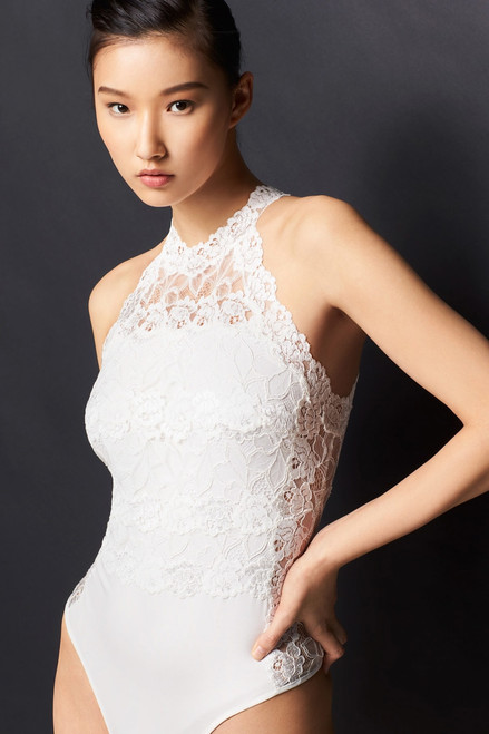Josie Natori Element Bodysuit at The Natori Company