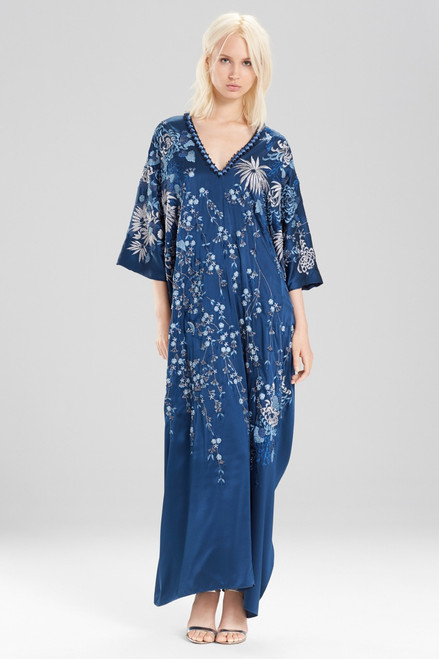 Buy Josie Natori Couture Cascading Floral Caftan from