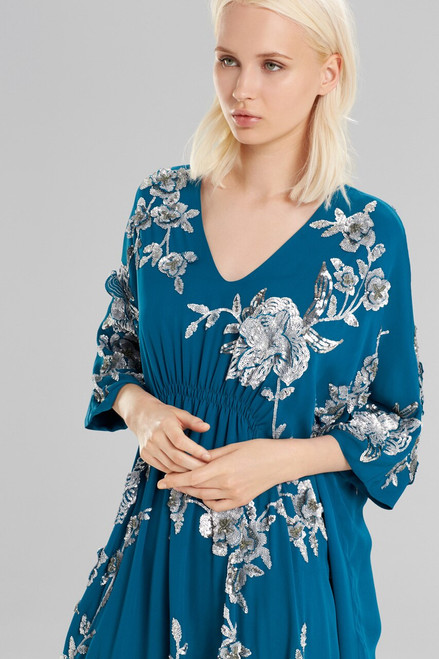 Josie Natori Couture Dimension Caftan at The Natori Company