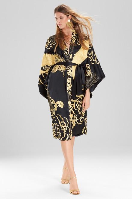 Josie Natori Couture Dragon Robe at The Natori Company
